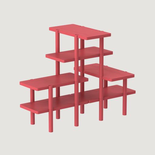 Lacquered ash Luka Stepan Design