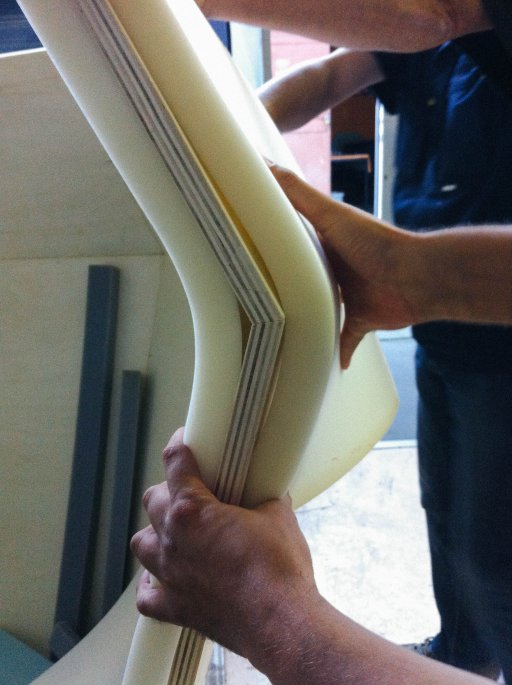 Trying different foam densities Luka Stepan Design