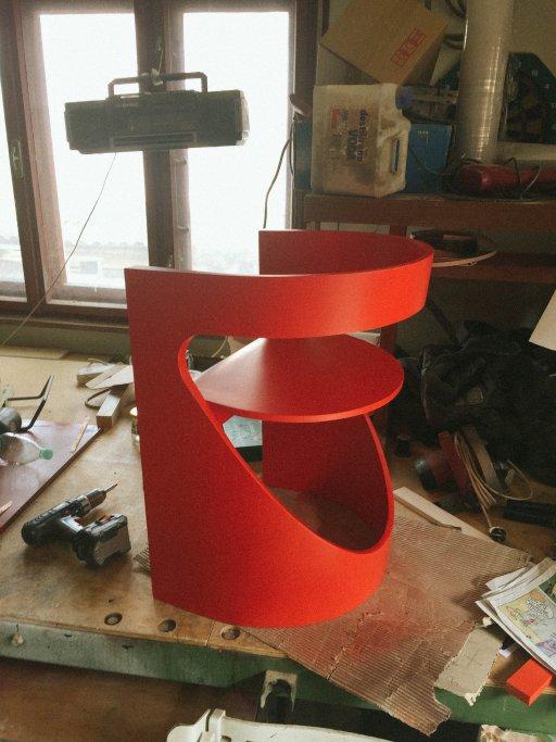 Final coat of paint Luka Stepan Design