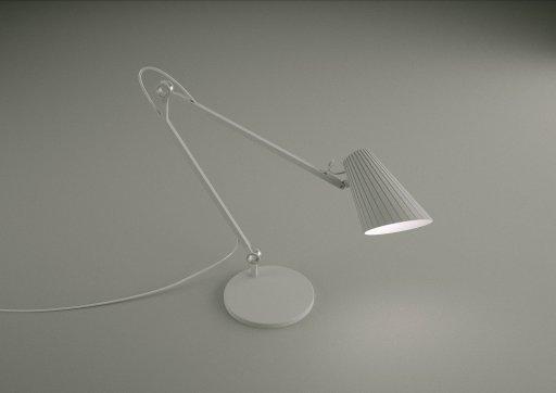 The exhibited light Luka Stepan Design